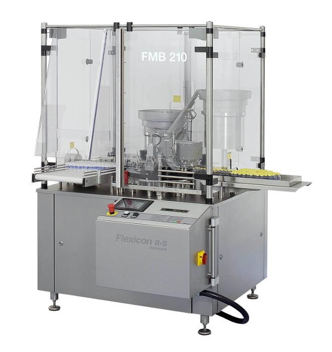 Автоматическая система наполнения и укупорки Flexicon FMB210
