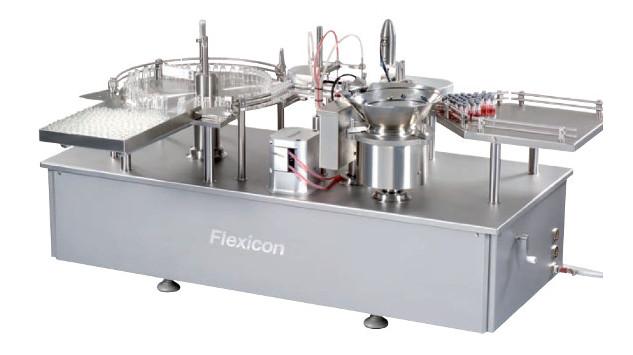 Автоматическая система наполнения и укупорки Flexicon FP50