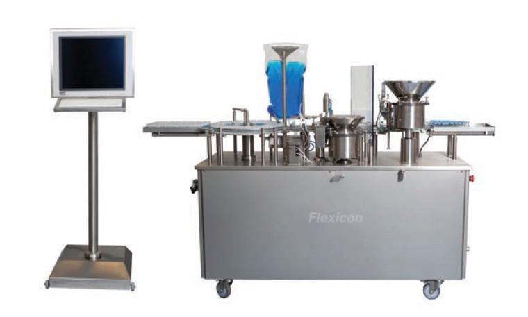 Автоматическая система наполнения и укупорки Flexicon FPC50